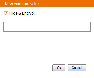 Edit encrypted values
