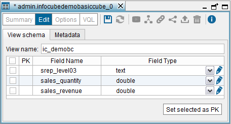 "Creating a SAP BW base view with ""Include leaf levels of hierarchies only"" enabled (2)"