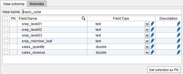"Creating a SAP BW base view with ""Member leaves"" enabled (2)"