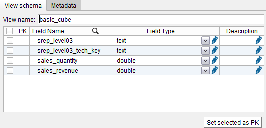 "Creating a SAP BW base view with ""Technical Keys"" enabled (2)"