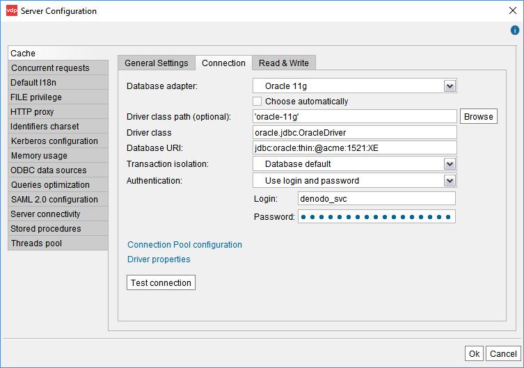 Invalidating query cache entries mysql odbc