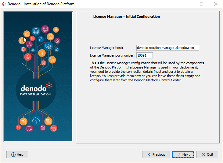 Step 4: configuring the License Manager