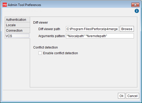 External diff viewer configuration