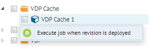 "Option ""Execute job when revision is deployed"""