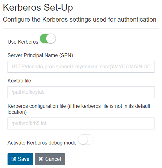 Kerberos Set-Up
